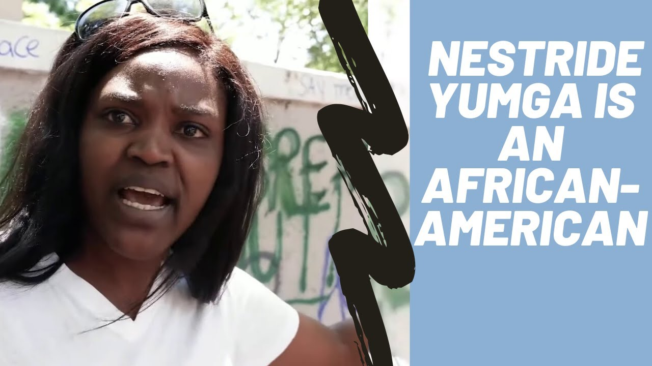 Nestride Yumga is an African-American | Justice for George Floyd|