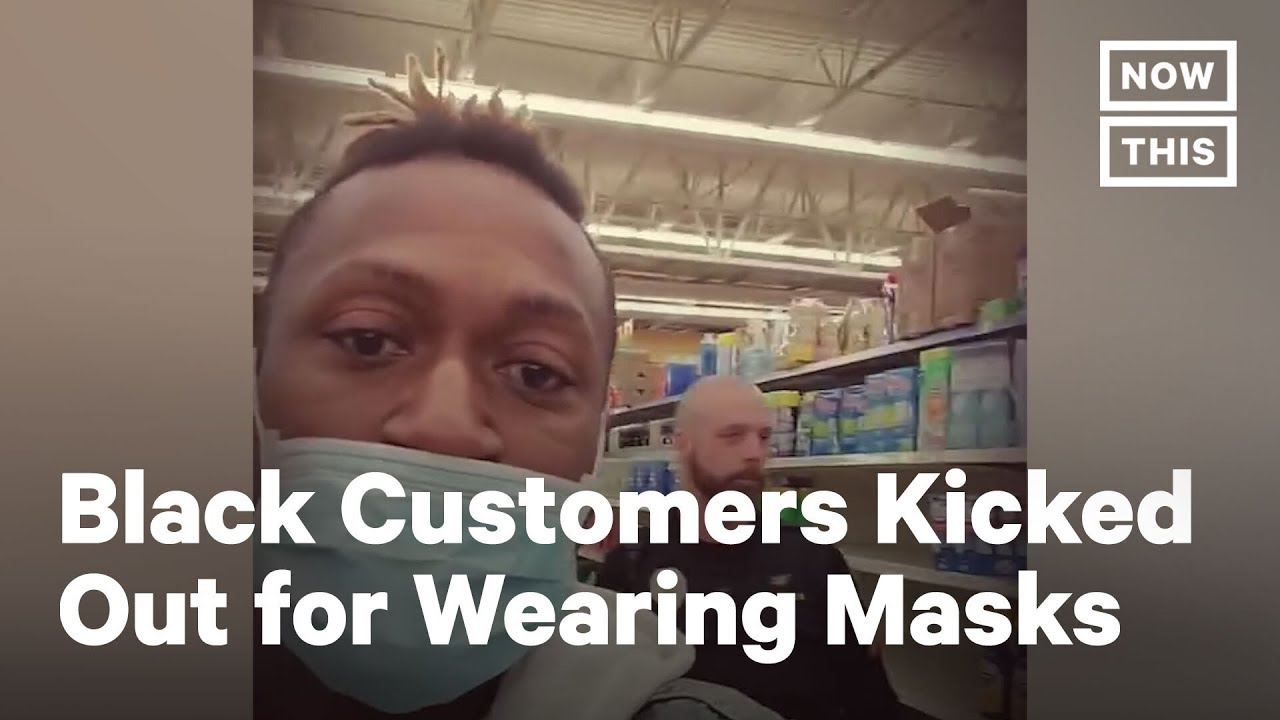Officer Kicks Black Men Out Of Walmart For Wearing Face