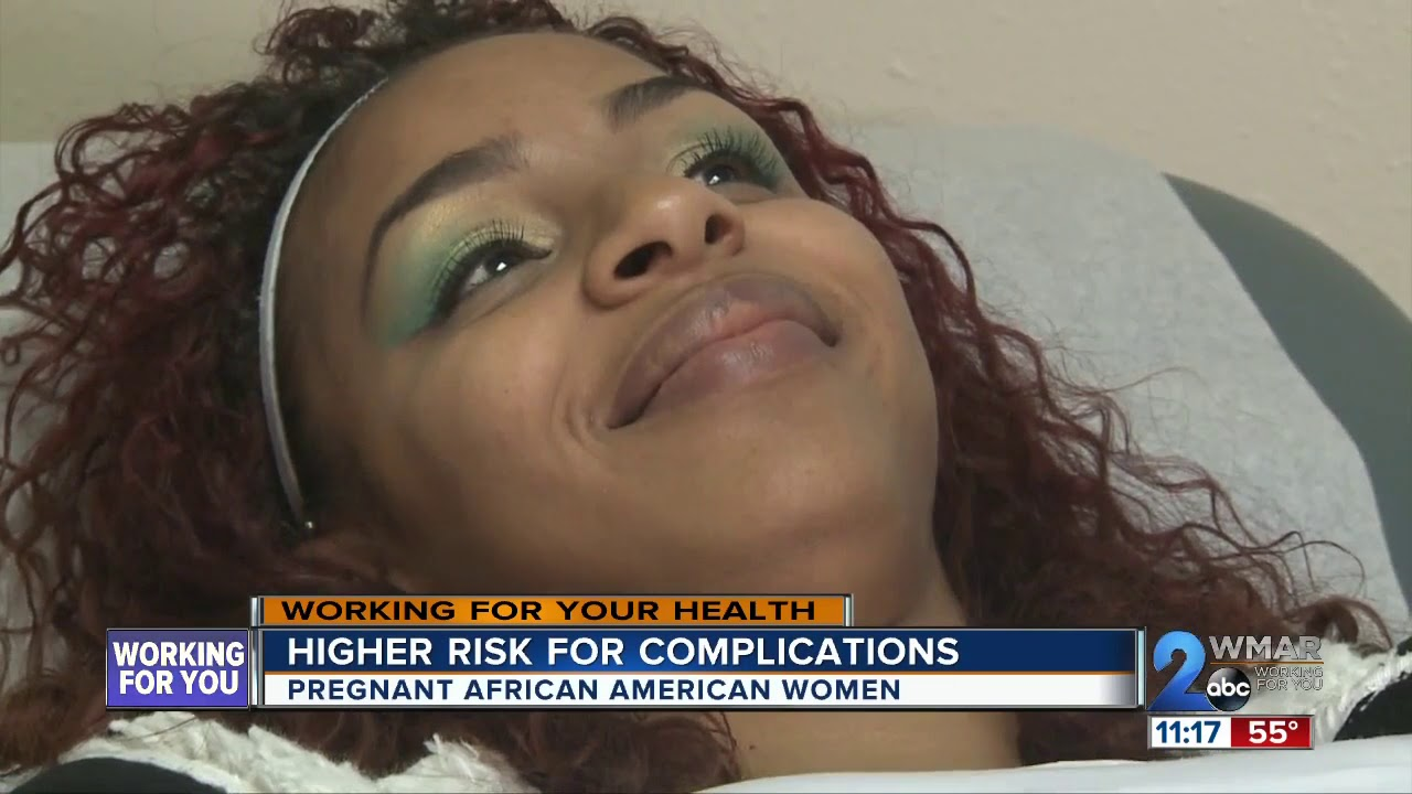 Pregnancy complications higher in African-American women