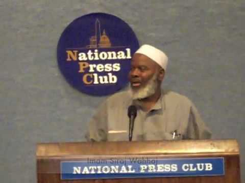 Press Conference: Coalition of African American Muslims – Imam Siraj