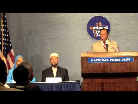 Press Conference: Coalition of African American Muslims – Minister Louis
