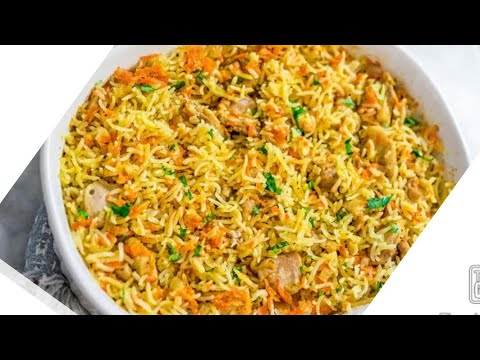 Restaurant Style Somali rice(baris) African food