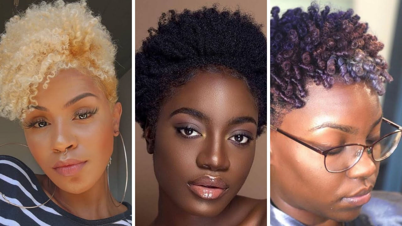 Short Hairstyles Goals for Pretty Divas: Go Low, Go Natural