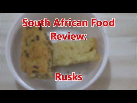 South African Food Review: Buttermilk Rusks
