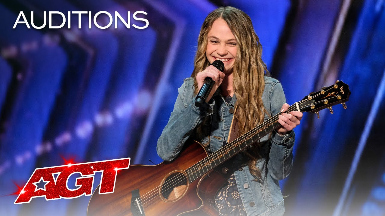 Teenager Kenadi Dodds Impresses Judges with an Original Country Song