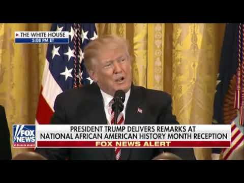 Trump honors African American contributions to US military