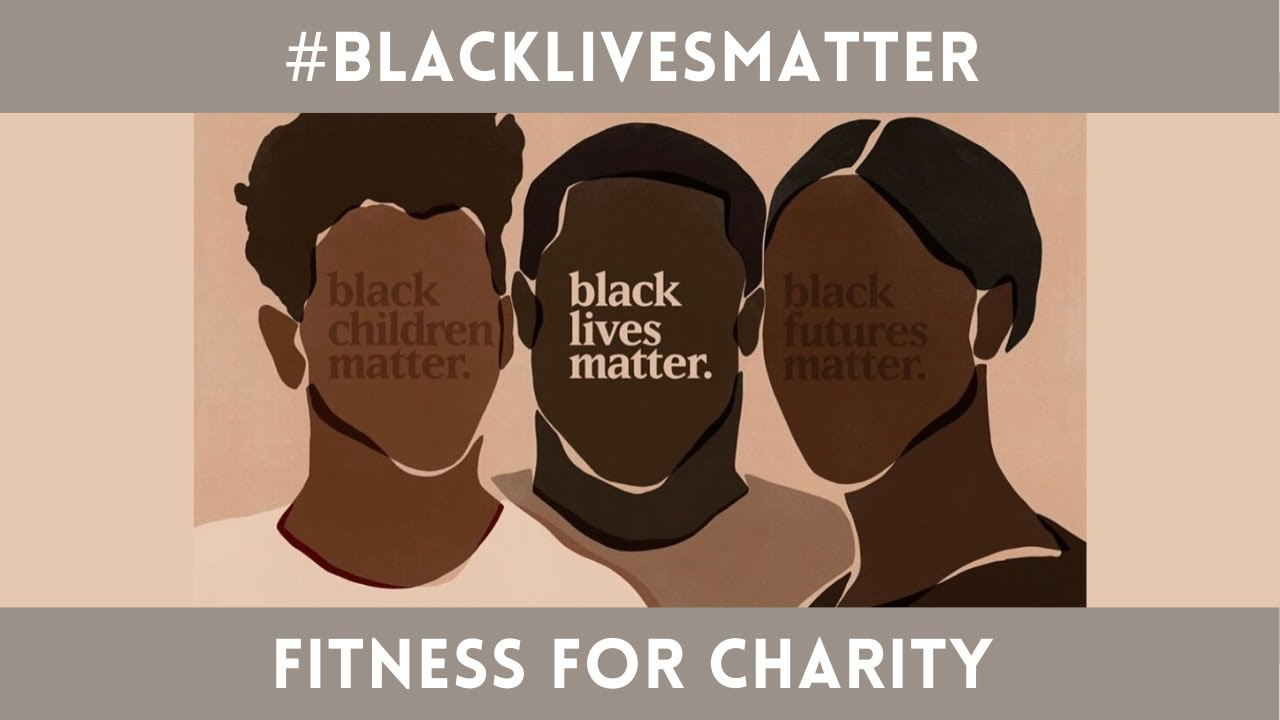 WATCH TO DONATE TO BLACK LIVES MATTER | FITNESS MARATHON