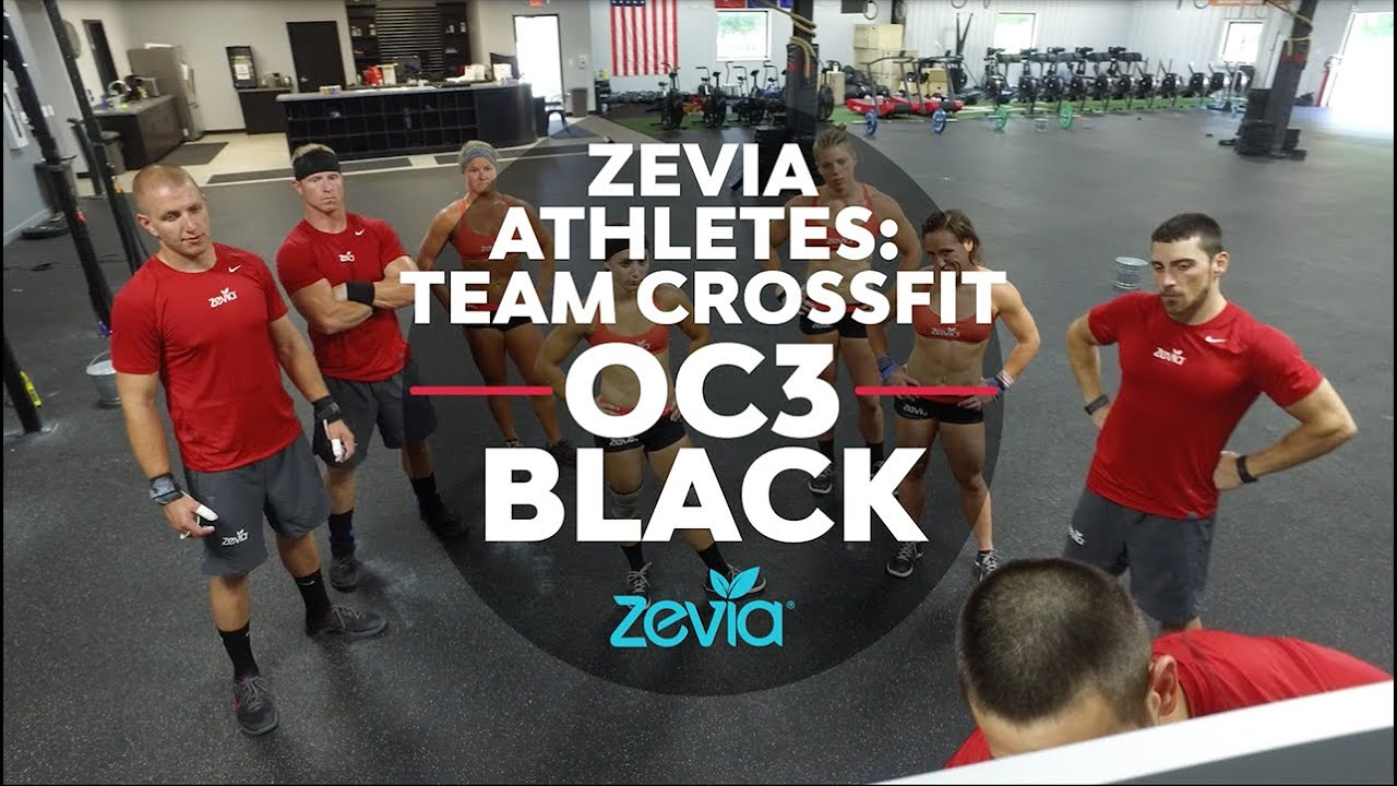 Zevia Athletes: Team CrossFit OC3 Black