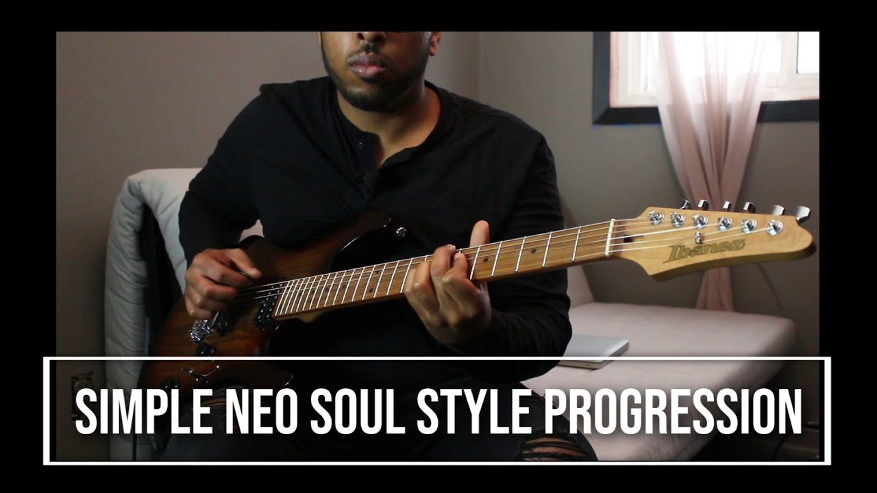 simple neo soul style progression guitar explanation
