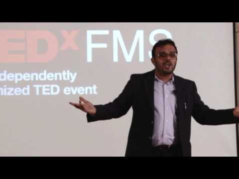 A Stand-up Comedian Discovering Passion | Vikram Poddar | TEDxFMS