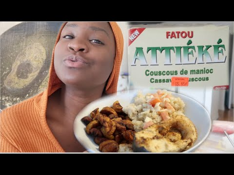AFRICAN FOOD IN QUARANTINE