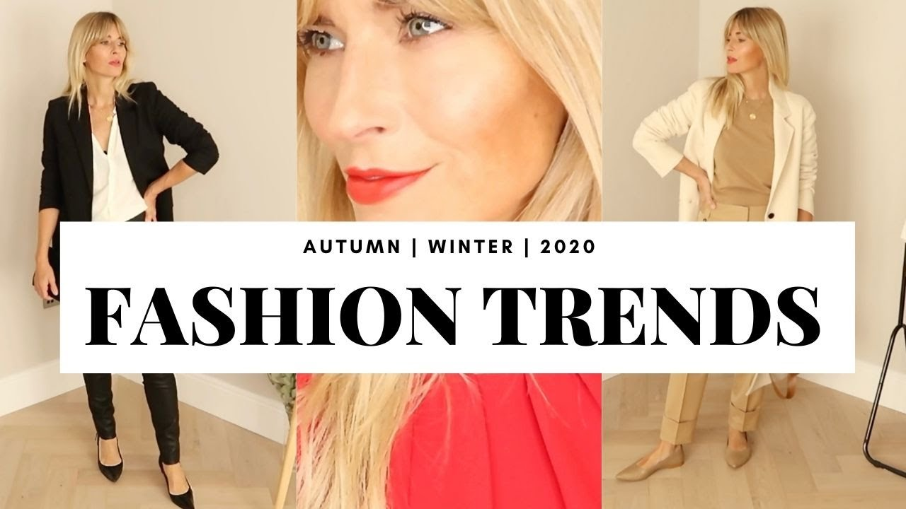 AUTUMN FALL FASHION TRENDS | Lookbook 2020