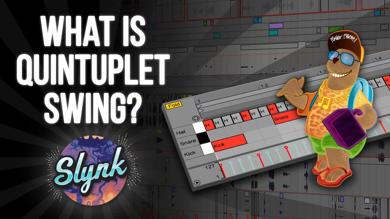 Ableton Tutorial: What Is Quintuplet Swing? (Neo Soul, Drunken Drummer,