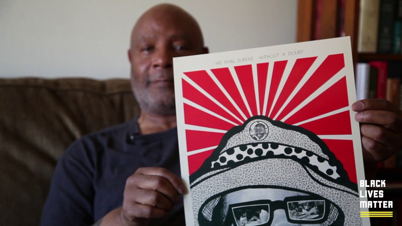 Emory Douglas collaborates with Black Lives Matter