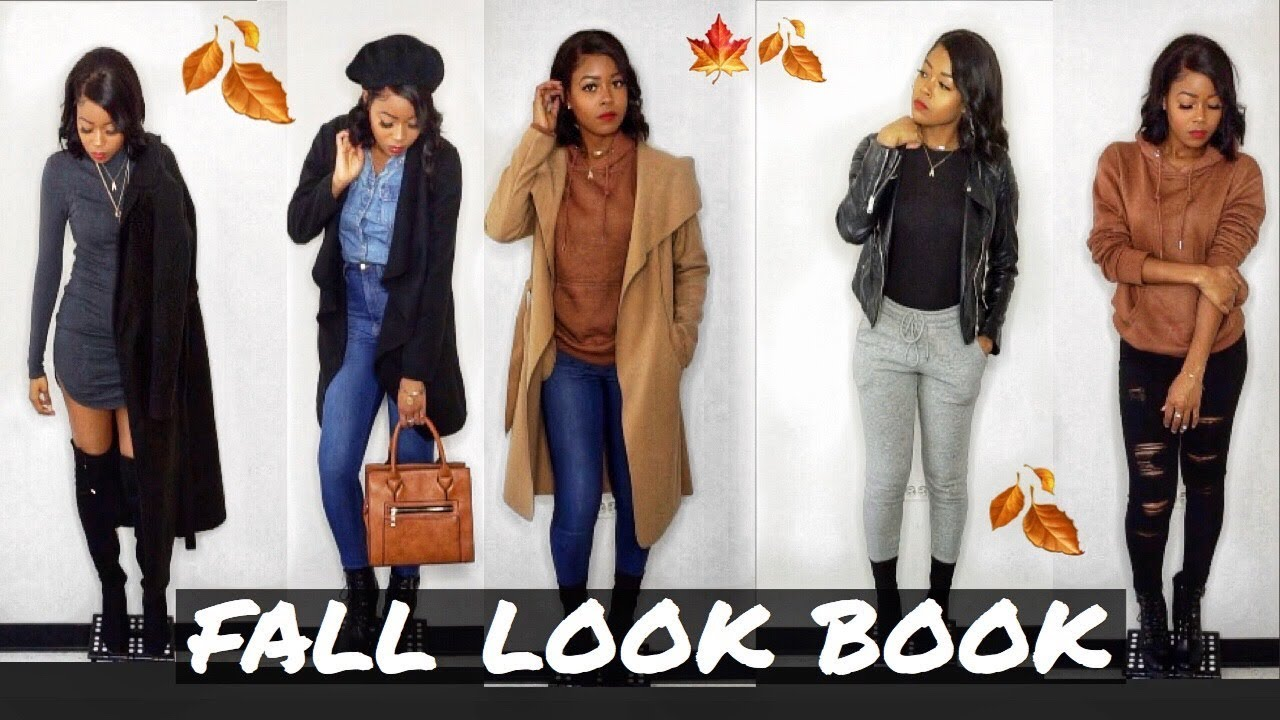 Fall LOOKBOOK 2019 Black Woman: 8 EASY & CHEAP Outfit