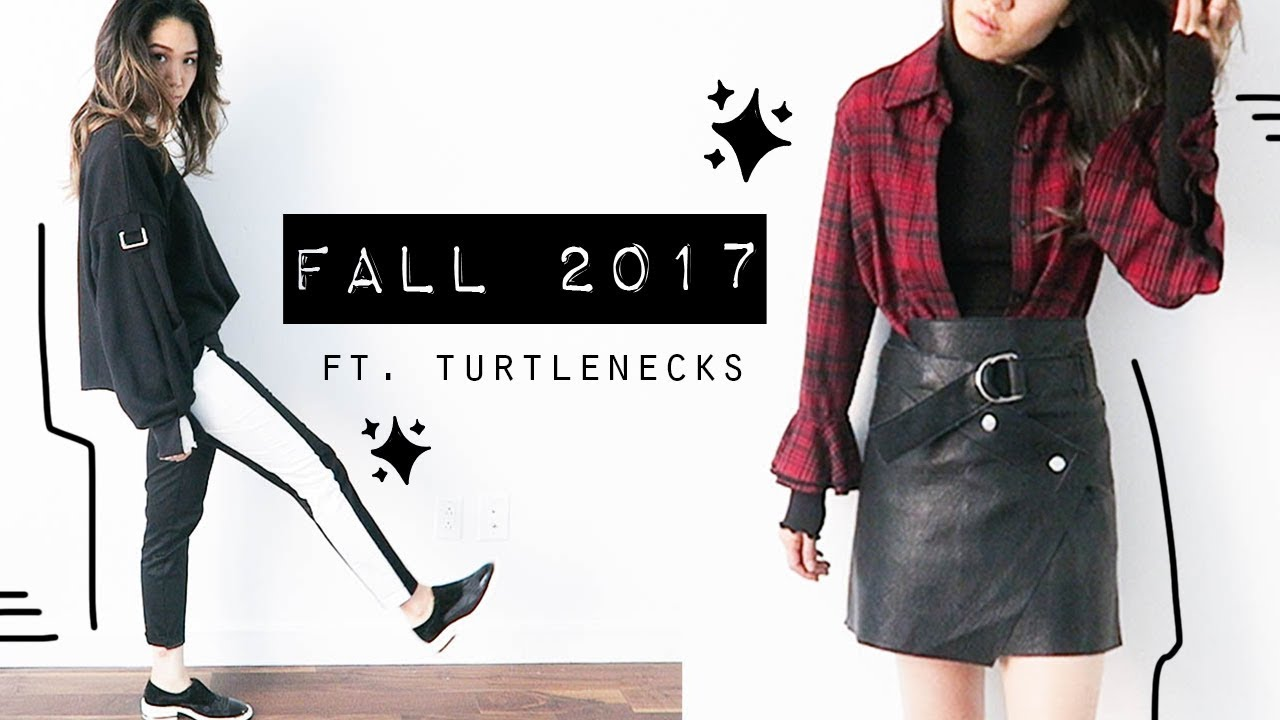 Fall Trends Styling & Layering Turtlenecks | Thrifted Outfits Lookbook