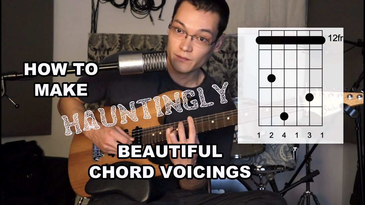 HAUNTINGLY BEAUTIFUL CHORD VOICINGS WITH DIAGRAMS (great for jazz and