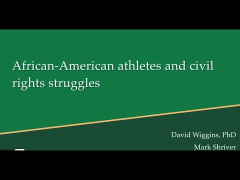 History of Sport and Leisure in Society: African American Athletes
