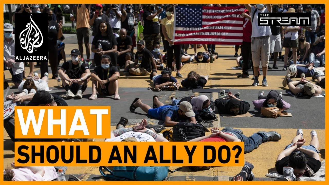 How can you be an ally to the Black Lives