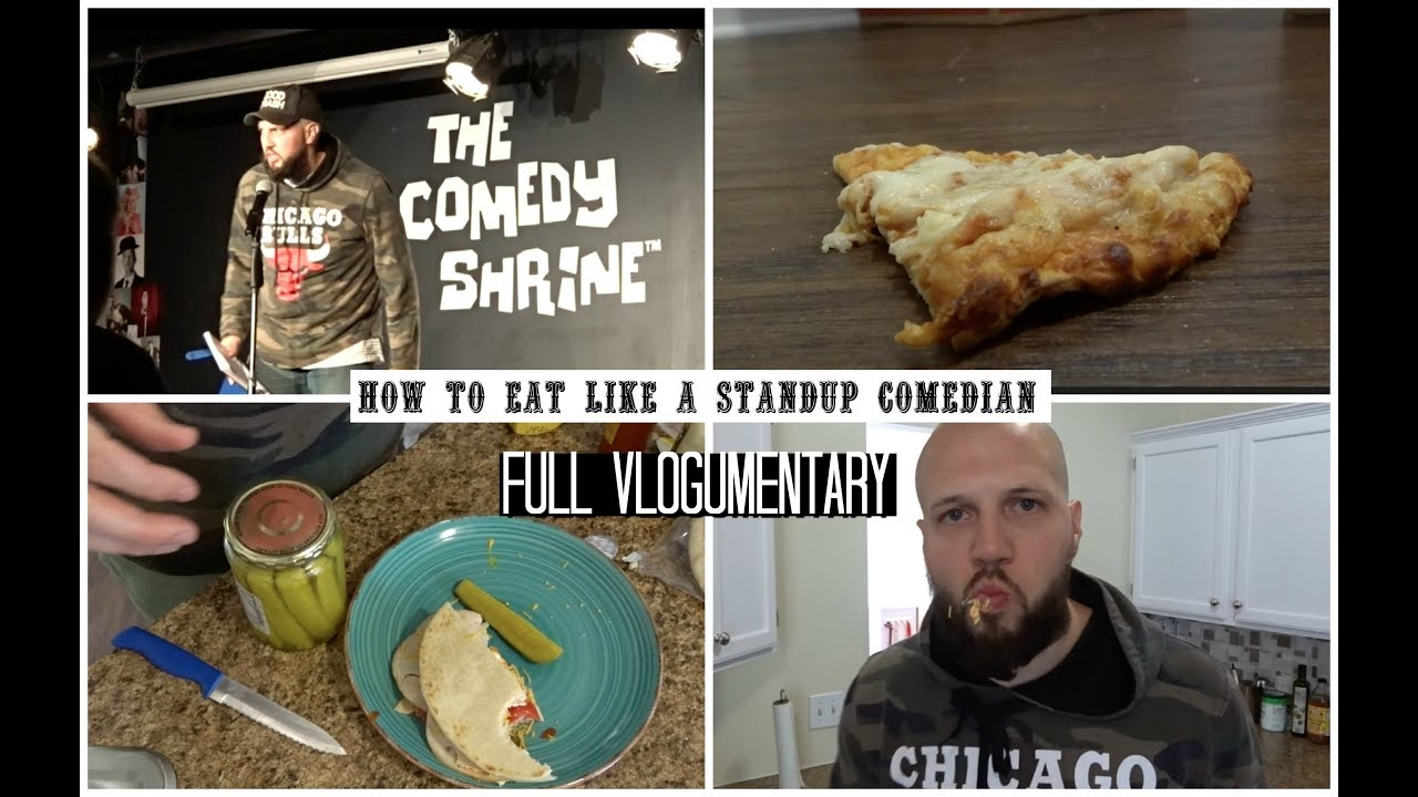 How to eat like a stand up comedian [ Complete