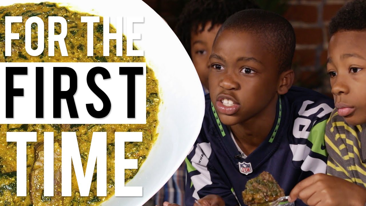 Kids Try African & Jewish Food 'For the First Time'