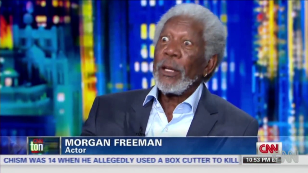 Morgan Freeman's Thoughts on racism and black history month!!! #blacklivesmatter