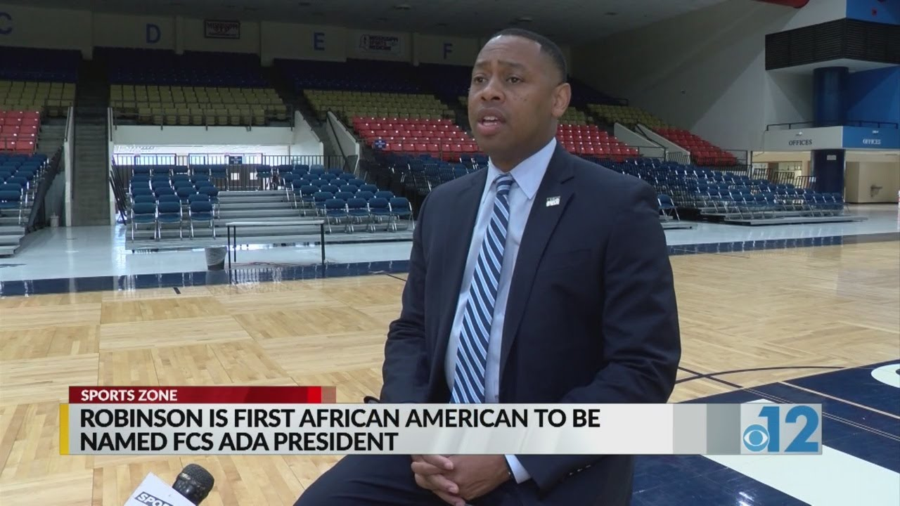 Robinson named FCS ADA President; first African-American to assume role