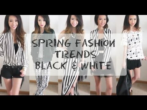 Spring 2013 Fashion Trends: Black & White