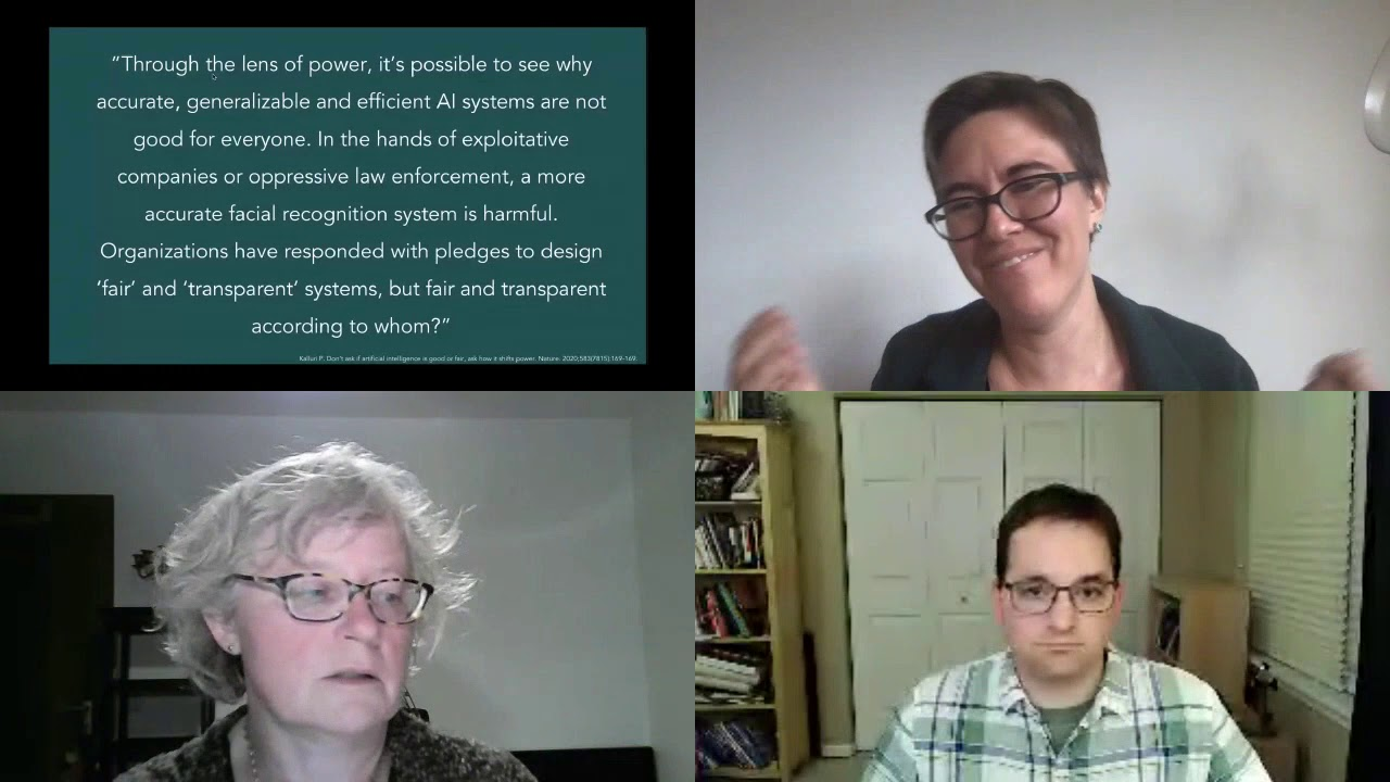 Technology and Social Justice Panel 2
