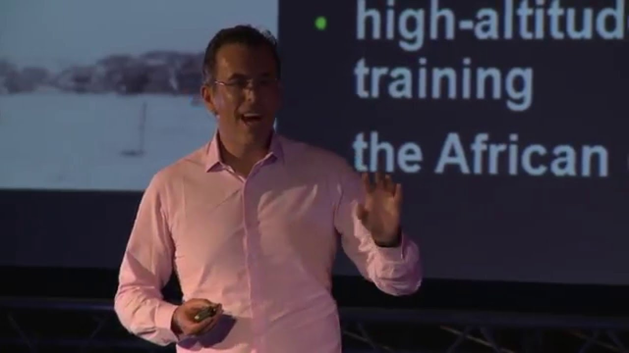 Why white men can't run: Scientific Evidence? | Yannis Pitsiladis
