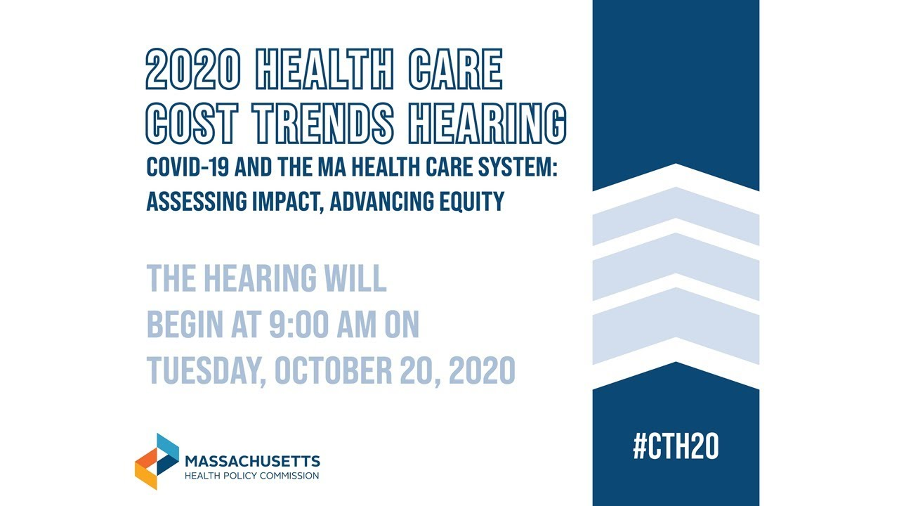 2020 Health Care Cost Trends Hearing