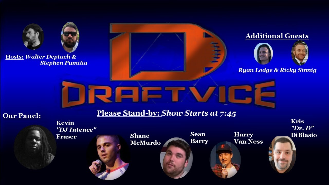 2020 NFL Draft- Draftvice Viewing Party with Stand up Comedians