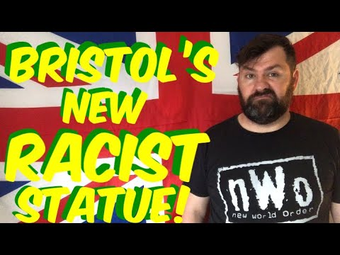 Bristol's New Racist Statue #blacklivesmatter #jenreidstatue #edwardcolston