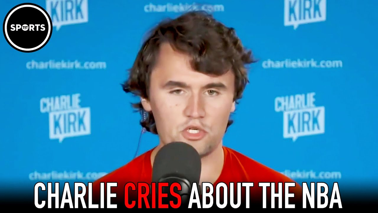 Charlie Kirk Gets Triggered By Black Players In The NBA