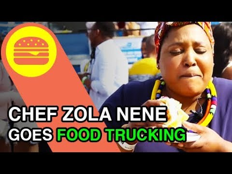 Chef Zola Nene goes exploring some Food Trucks in South