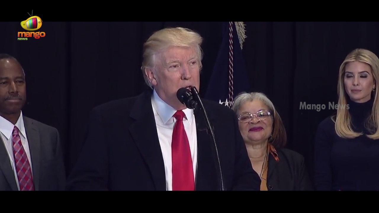 Donald Trump Speaks At National Museum of African American History