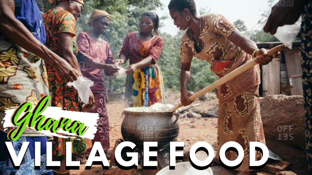 INCREDIBLE VILLAGE FOOD IN AFRICA | Trying a popular Village