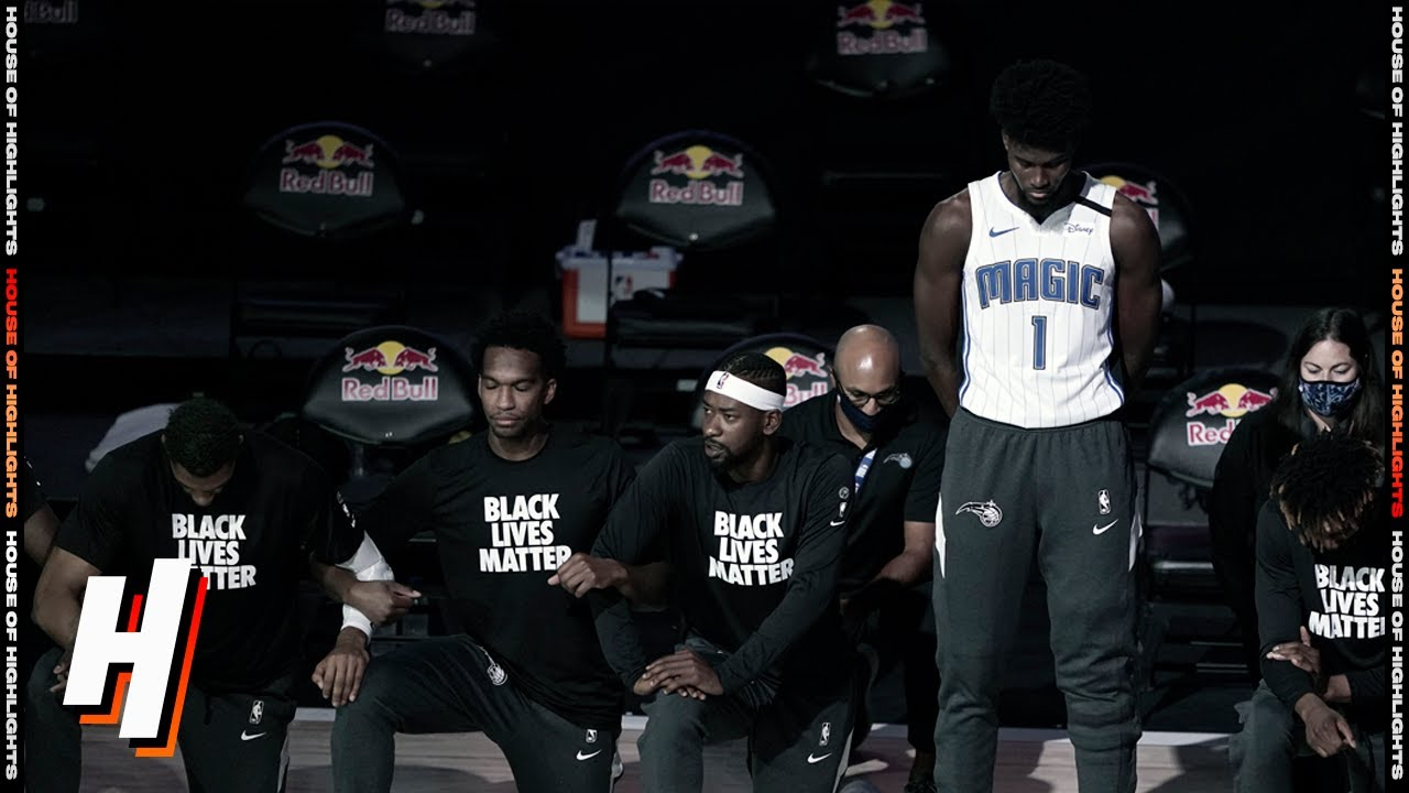 Jonathan Isaac Doesn't Kneel During National Anthem | July 31,