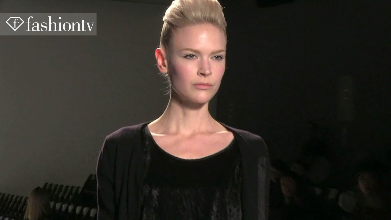 Model Trends: Black & Colors Fall/Winter 2013-14 | FashionTV