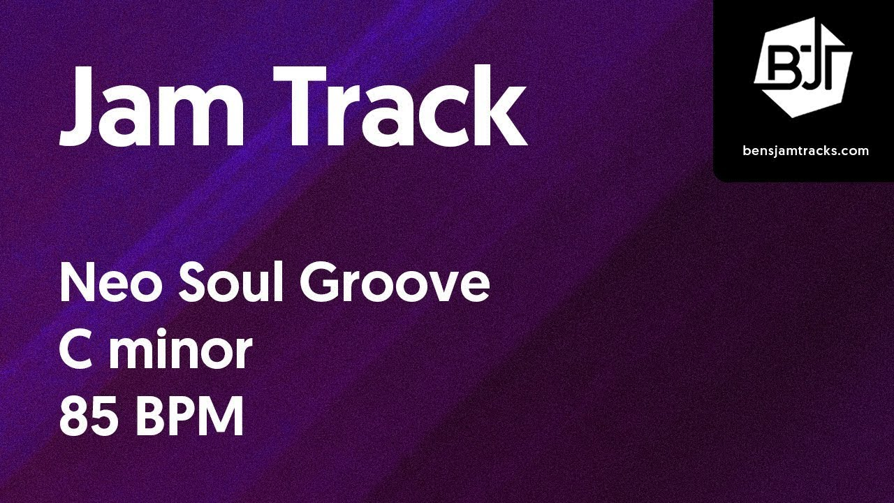 Neo Soul Groove Jam Track in C minor – BJT
