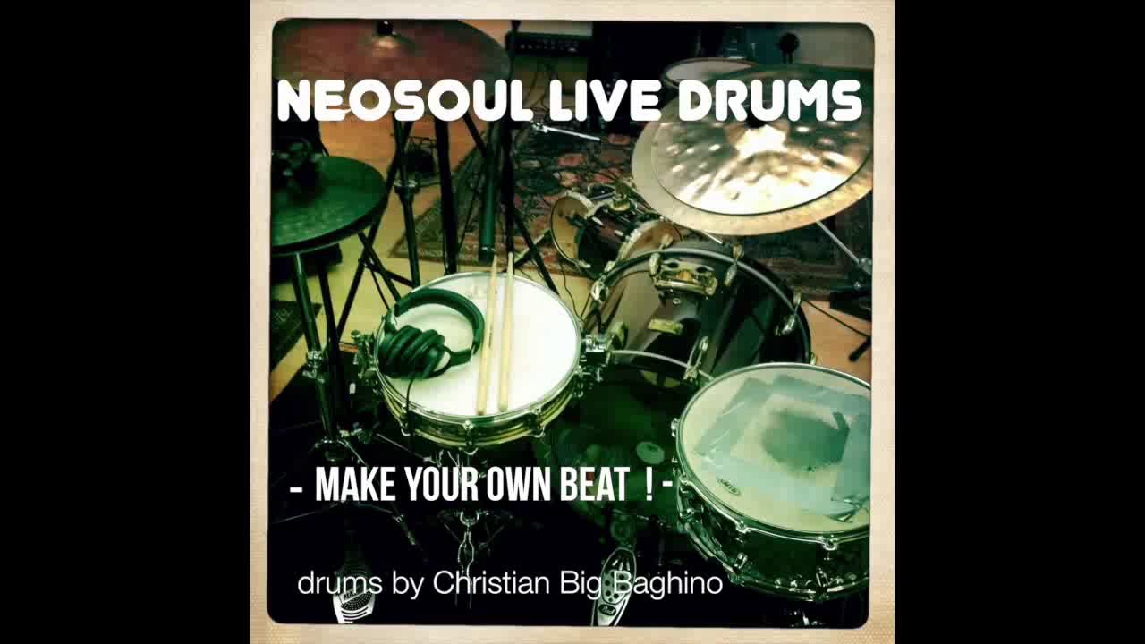 NeoSoul Live Drums – Free Drum track for your own