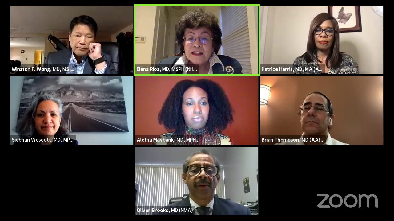 Prioritizing Equity: The Experience of Physicians of Color and COVID-19