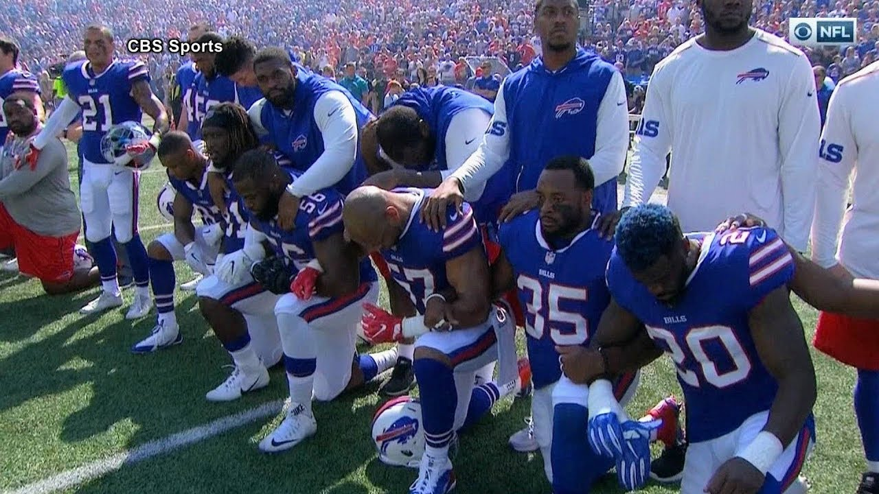 Take the Knee: Athletes Unite in Historic Protest Against Racism