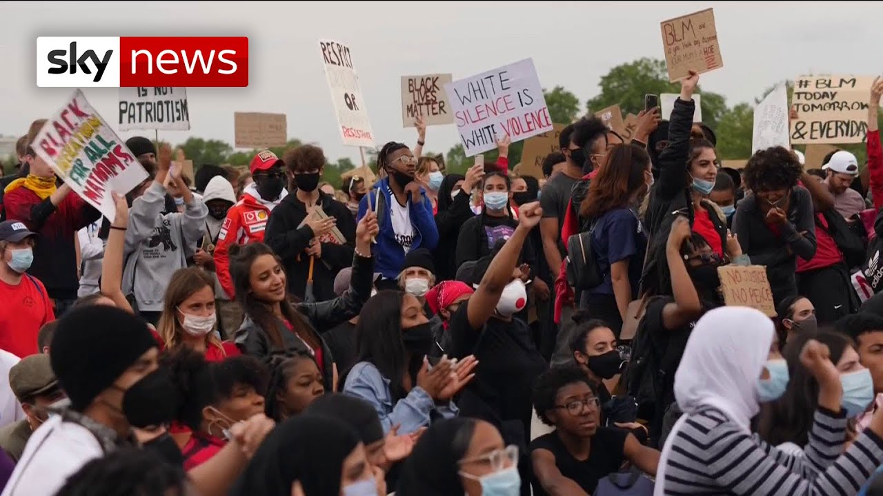Thousands in London protest to say 'Black Lives Matter'