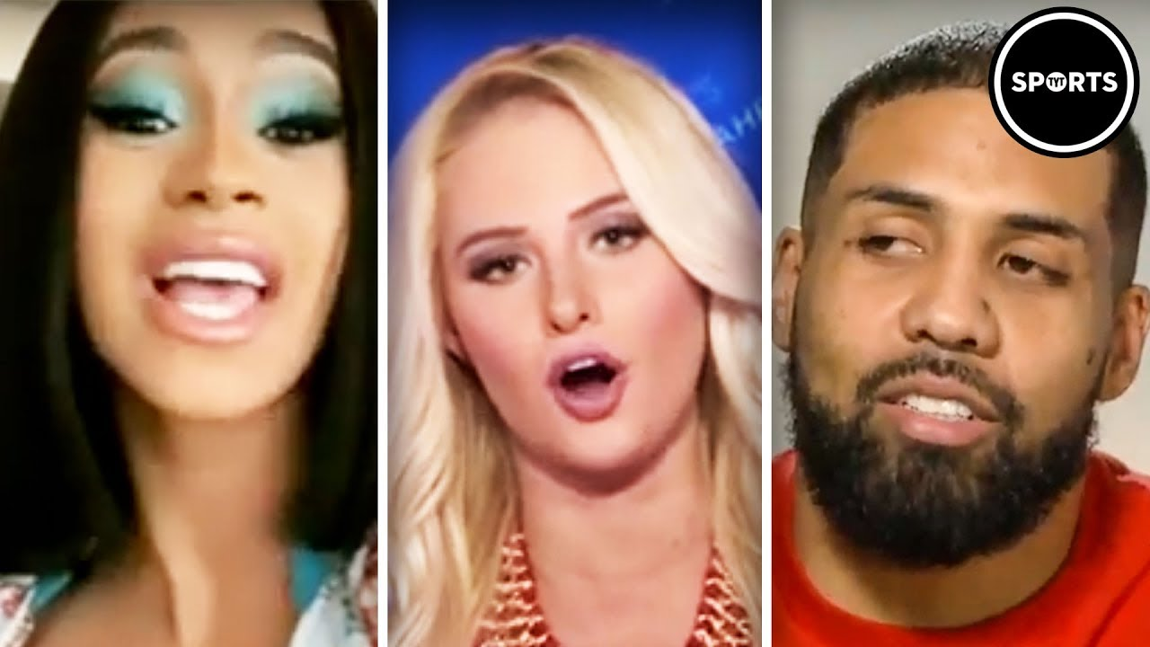 Tomi Lahren DEMOLISHED By Athletes And Celebs