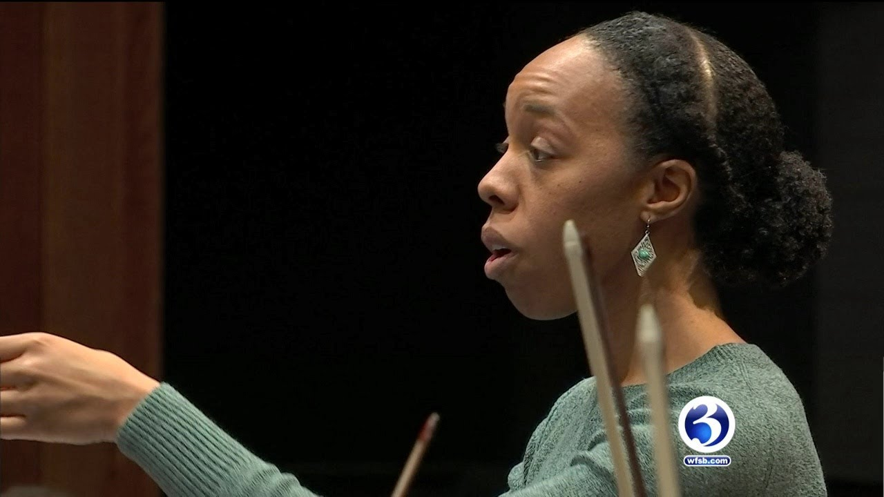 Video: Only female African American Hispanic conductor to guest conduct